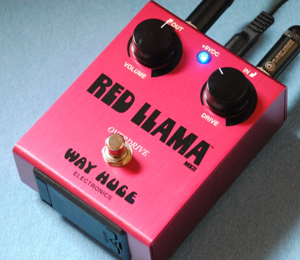 Way Huge Red Llama Overdrive im Test
