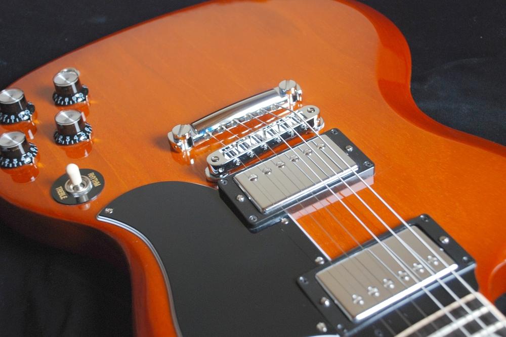 Gibson SG mit TonePros Hardware