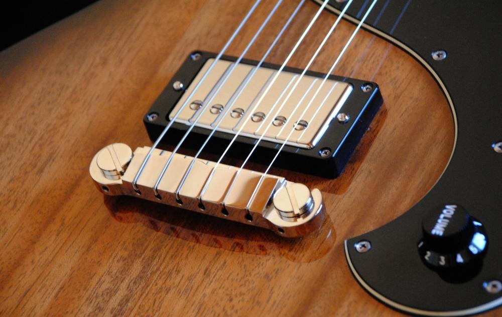 Helliver Custom mit Gibson Burstbucker-PU