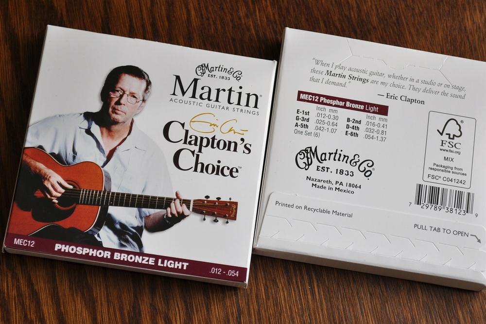Martin Clapton's Choice Saiten im Test