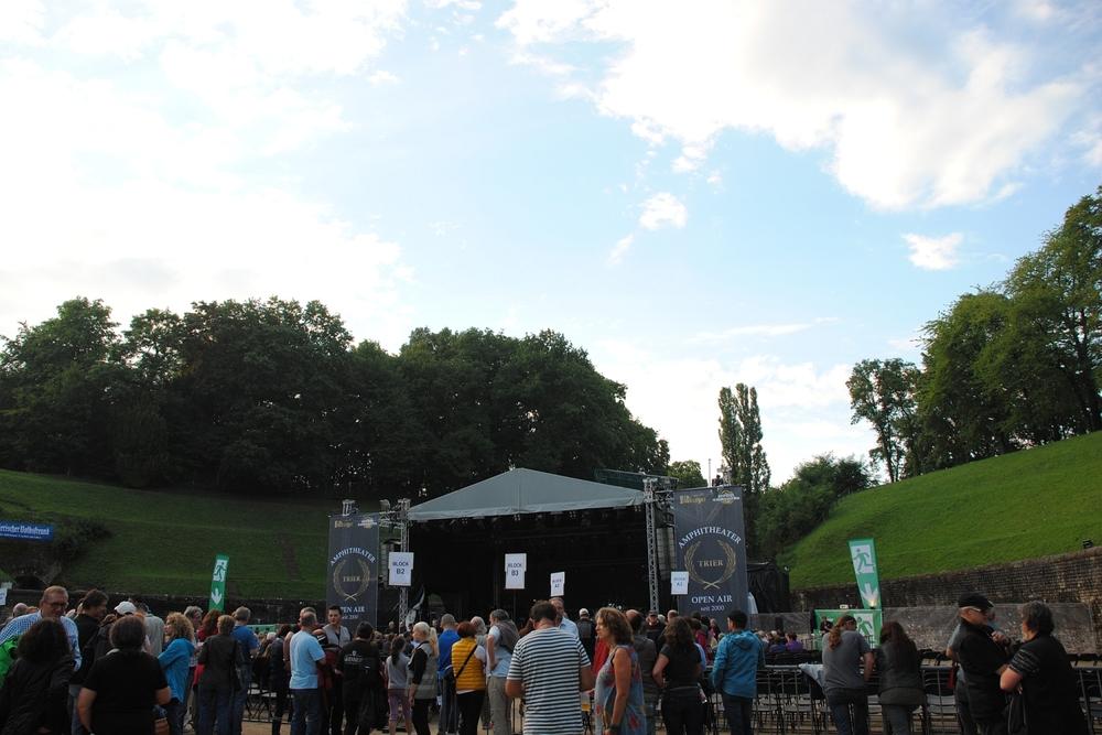 Open Air im Trierer Amphitheater