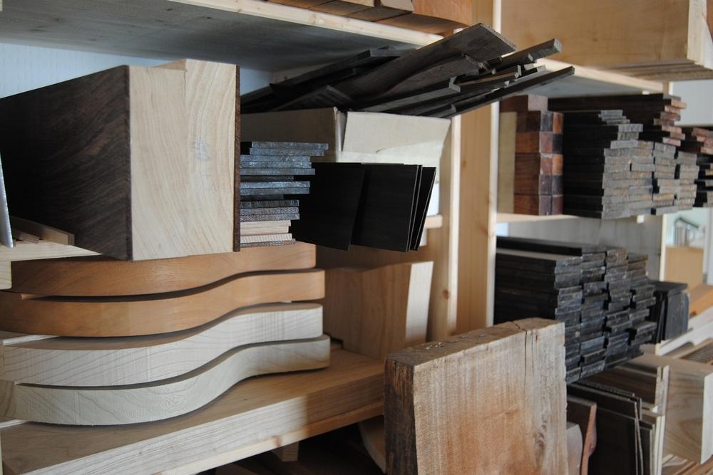 Einblick in die Werkstatt von Helliver Guitars