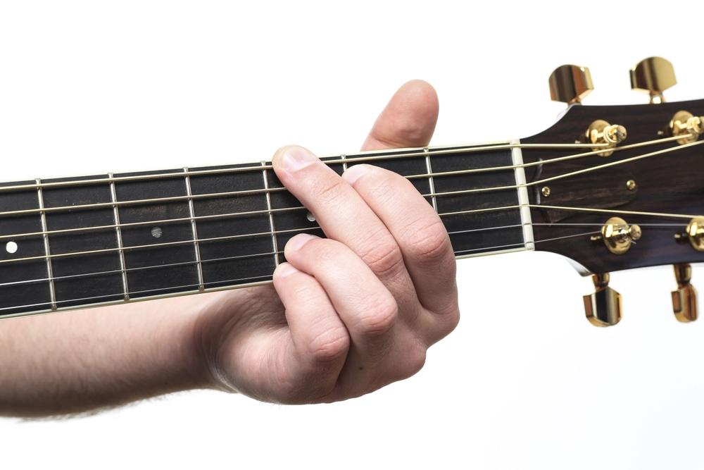 """Sehr effektives """"Benchmark"""" zum klanglichen Vergleich von Akustikgitarren: der offene G-Dur-Akkord"""