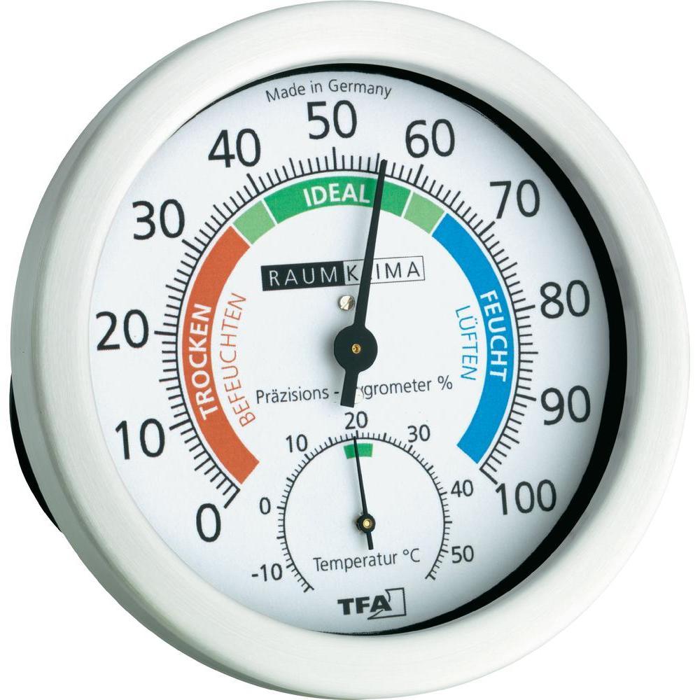 Das Hygrometer ist ein Messinstrument zur Bestimmung der Luftfeuchtigkeit.
