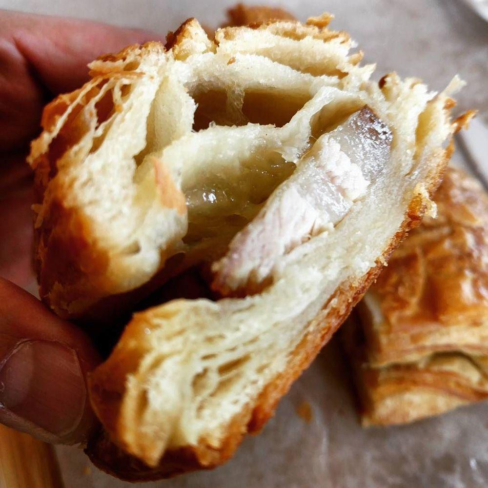 Pork Belly Croissant.