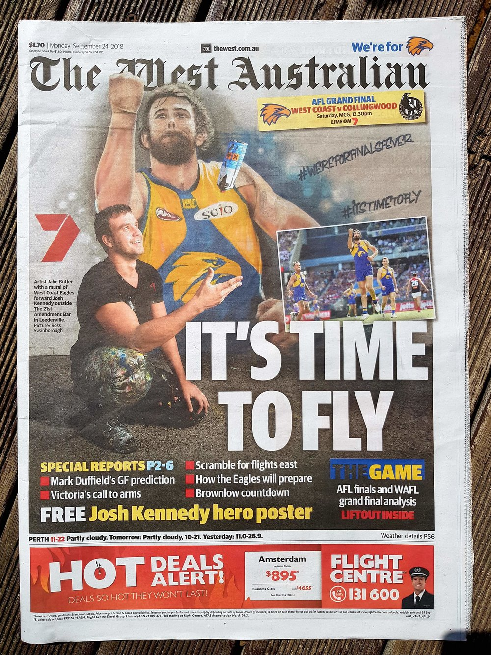 The West Australian Cover -