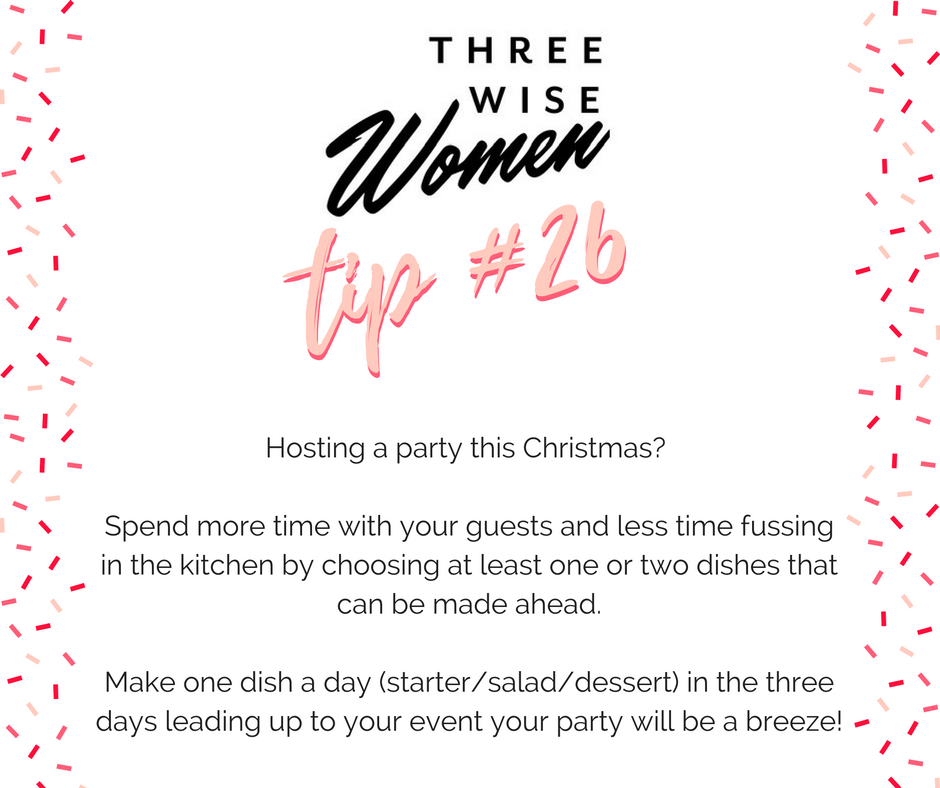 Three Wise Women Cooking Tip