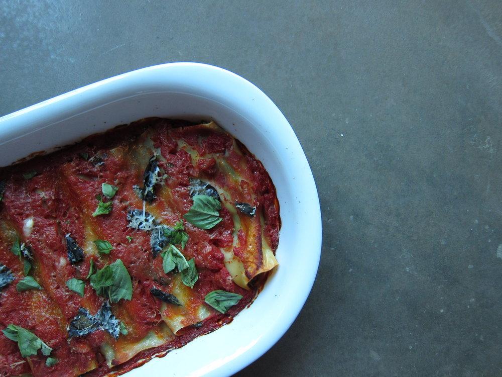 Ricotta Cannelloni Recipe Annabelle Chapple