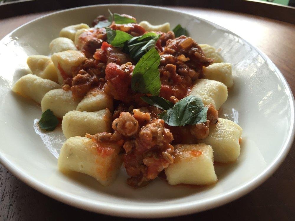 Vine Restaurant Sausage Ragù