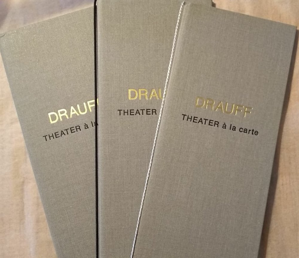 Theater à la carte - DRAUFF's neues Format