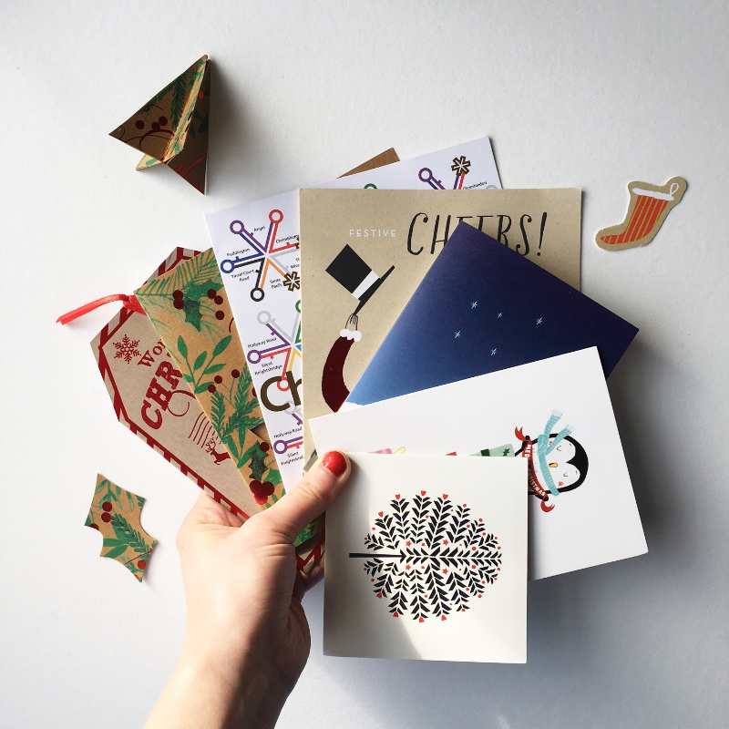 Ideas for re-using your old Christmas cards — Little Paper Vee