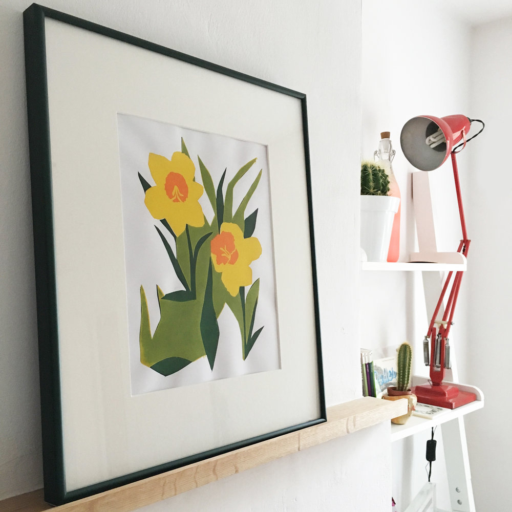 daffodil framed 2.jpg