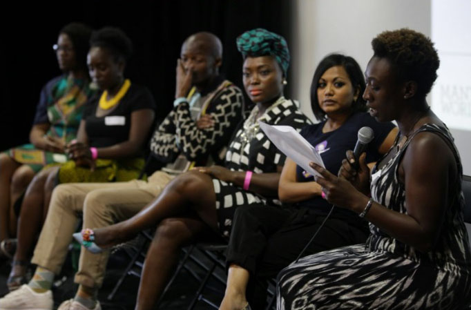 The 'Afri-Present' panel