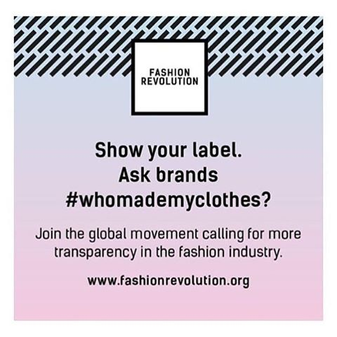 Today is Fashion Revolution! Be curious, find out who made your clothes, jewellery and accessories. At Danaqa we ensure we only work with people committed to putting people and planet first. @fash_rev #ethicalfashion #fashionrevolution