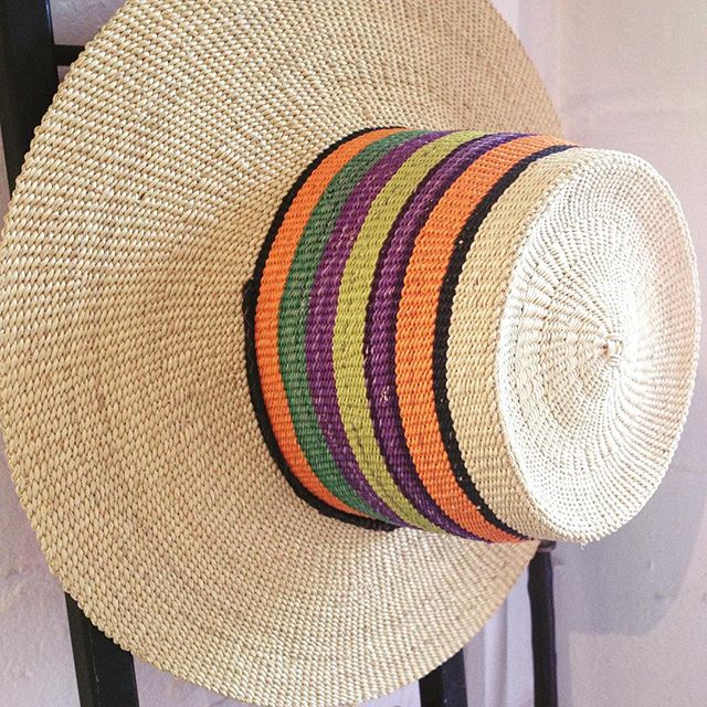 We hope you've been enjoying the sunshine this week 🌞 if you're still looking for the perfect sun hat come and visit us tomorrow for one of these beautiful handwoven hats from #fairtrade company @babatreebaskets #ethicalfashion #ghana to #London #ethical style #sunhat