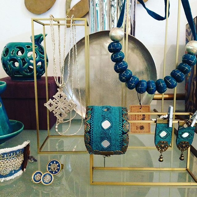 Shades of teal & turquoise...just some of the beautiful products available at Danaqa...made in #Iran #Ethiopia #India #srilanka and more...supporting #womeninbusiness #handcrafted #ethicallymade #worldchic