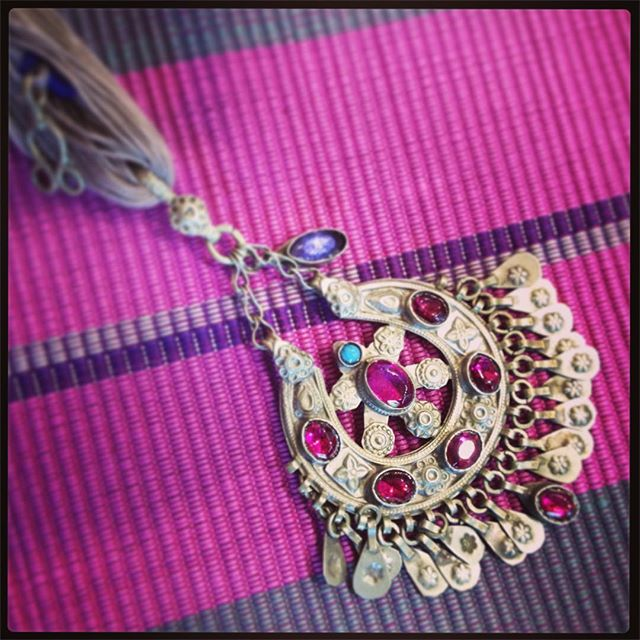 Pretty in pink 💗💜 stunning new necklaces in at Danaqa from the #Baloch tribes of #Iran #ethicaljewellery #worldchic #summerstyle