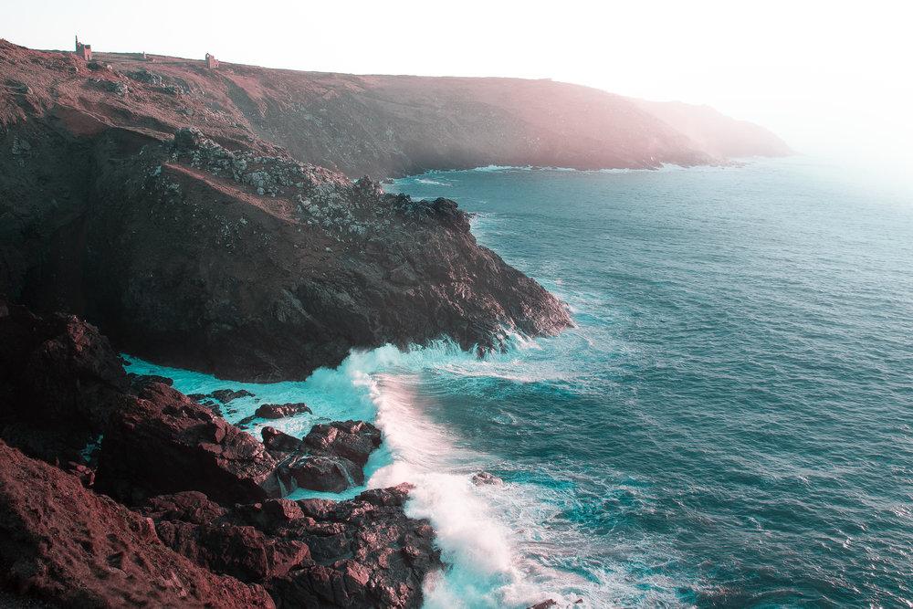 Landscape photograph of the famous Cornish landscape Bottalick