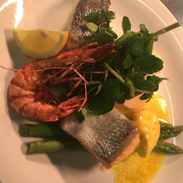 Summer Menu #Seafood Mixed Grill