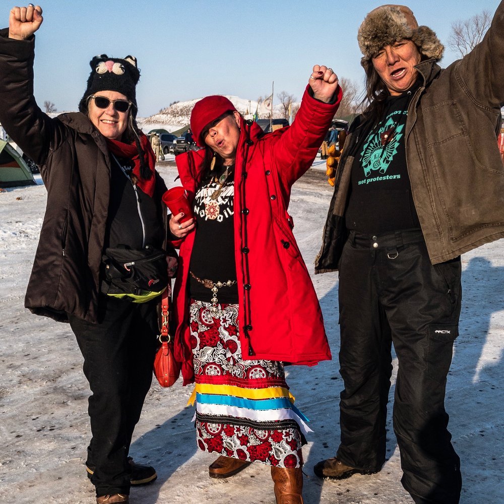Taken at Oceti Sakowin Camp ... #NoDAPL