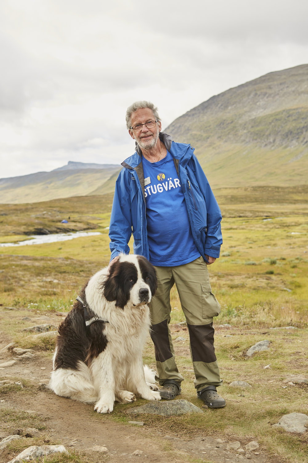 Portraits shot on Sweden's Arctic Circle Kungsleden King's Trail for Scandinavian Traveller Magazine SAS Airline
