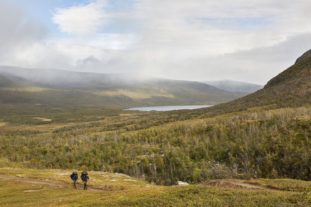 travel photography sweden kungsleden artic circle king's trail hiking editorial adventure