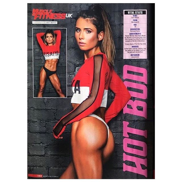 Check out the October issue of @muscle_and_fitness_uk, loving this shoot 📷 credit @matt__marsh  Hair/make up @helen_andrewmua  @susanoore you look amazing in @kisaiya 👌 Available now & discounted on @asos outlet . . . . . . . . . #kisaiya #ss18 #asos  #sports #fitness #health  #training #love #exercise #instasport #sporty #workout #cardio  #training #photooftheday #active #strong #motivation  #sportswear #fun #instagood #yoga #london #shoreditch #yogachallenge #yogaeverywhere #instasport #summer  #fashion #health