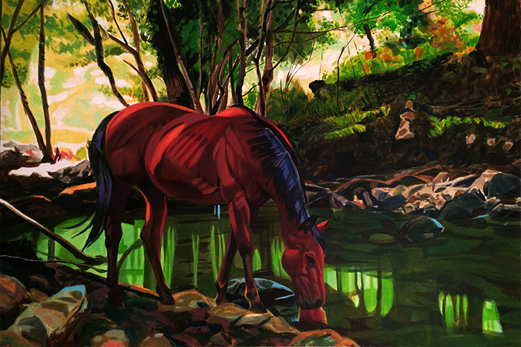 Horse at Stream.jpg