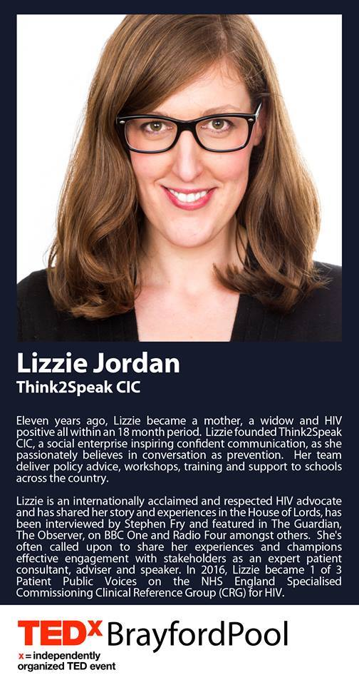 Lizzie Jordan TEDx Brayford Pool