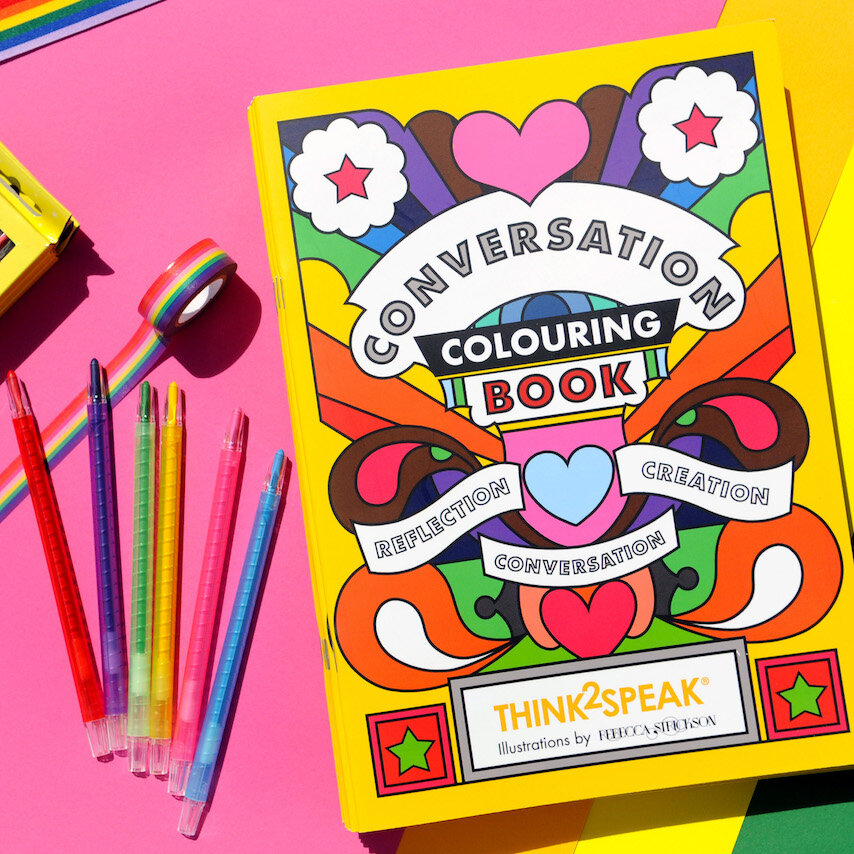 Colouring Book I Helping Disadvantaged Children I Think2speak Br Think2speak Cic