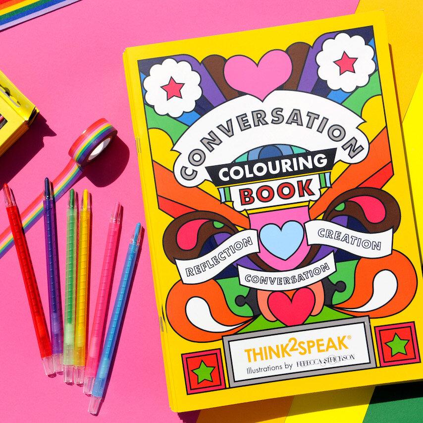 Colouring Book I Helping Disadvantaged Children I Think2Speak —  Think2Speak CIC