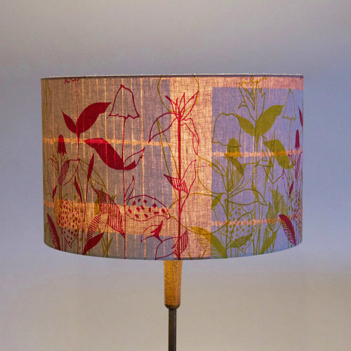 Pink floral lampshade 3 sizes available by iola henri the london pink floral lampshade 3 sizes available by iola henri mozeypictures Gallery