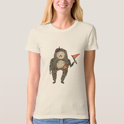 Woman's Sasquatch Tee • $26.50