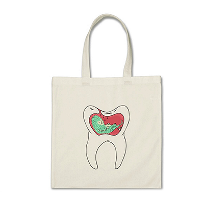 Tooth Decay Monster Tote