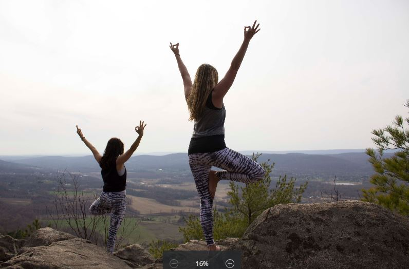 Yoga Hikes are a great workout for body & mind!