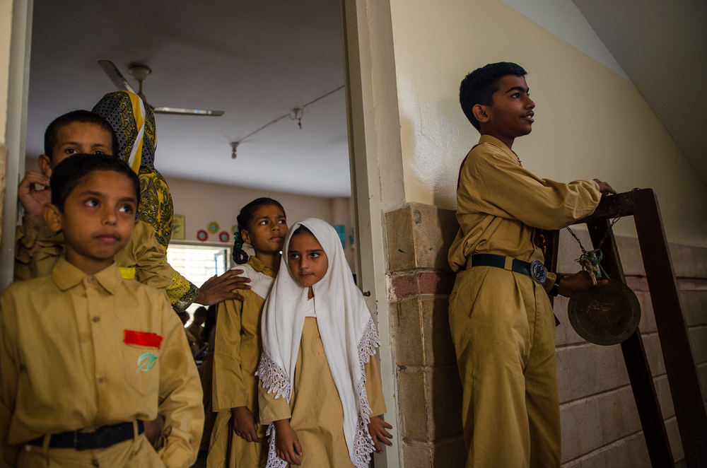 School in a Slum | Machar Colony, Karachi