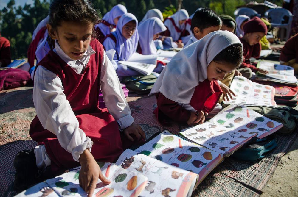 School On Top of a Mountain | Muzaffarabad (2/3)