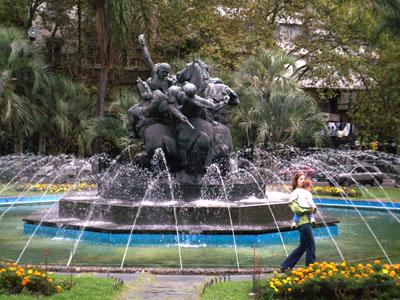 Ciudad Vieja fountain