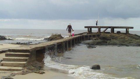 Atlántida beach
