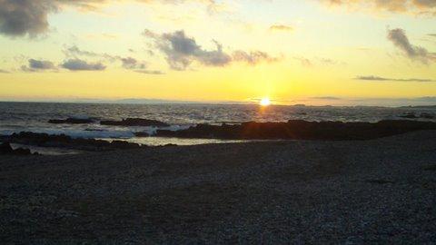 Sunset in La Paloma