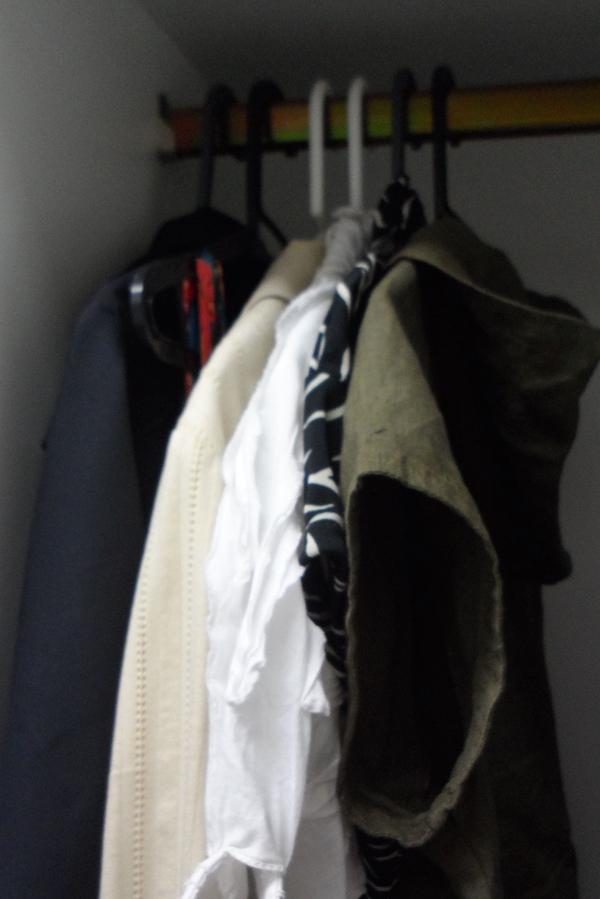 My Six-Hanger Closet