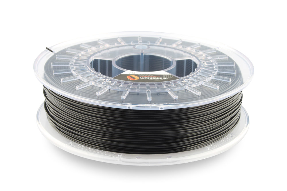 №13026 PLA Extrafill traffic black RAL 9017 (1,75мм/750г)