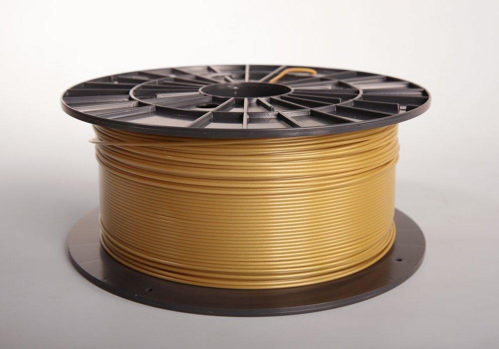 №31022 PLA gold пластик(1,75мм/1000г)