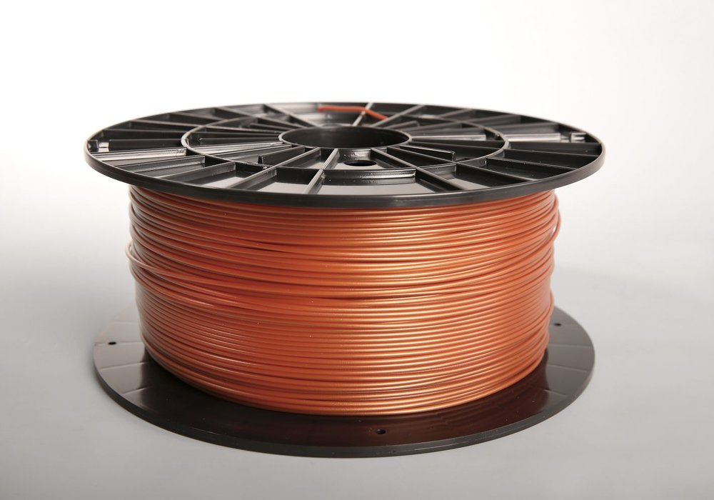 №  31024 PLA   copper   пластик    (1,75мм/1000г)