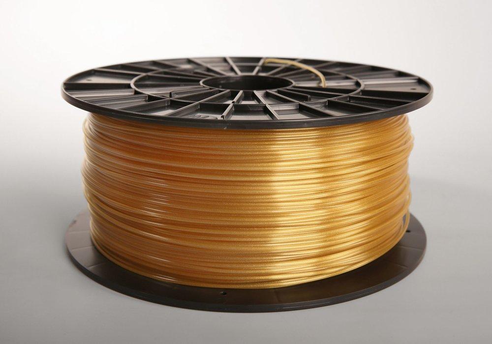 №33022   ABSt пластик     gold   (1,75мм/1000г)