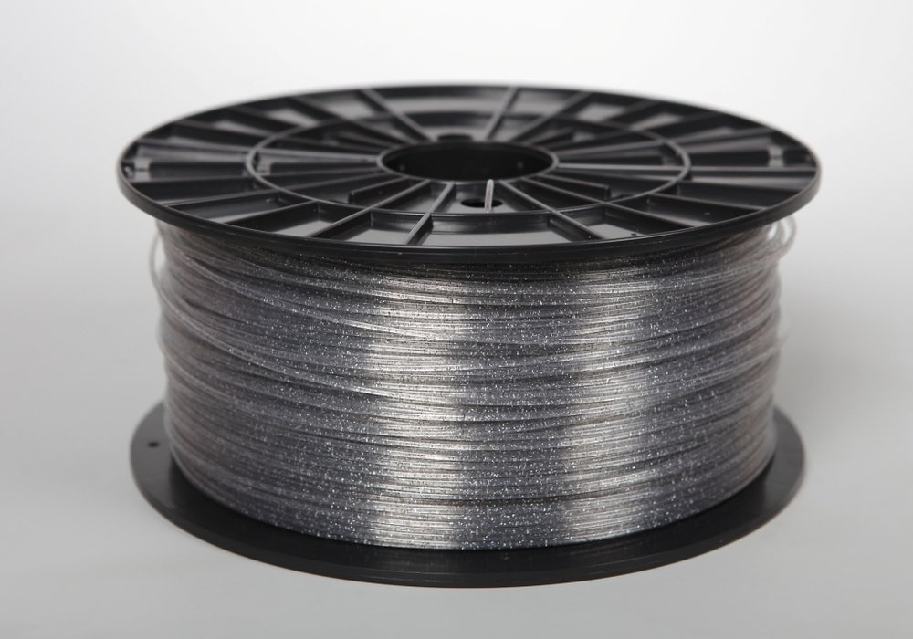№33026 ABSt пластик transparent glitter (1,75мм/1000г)