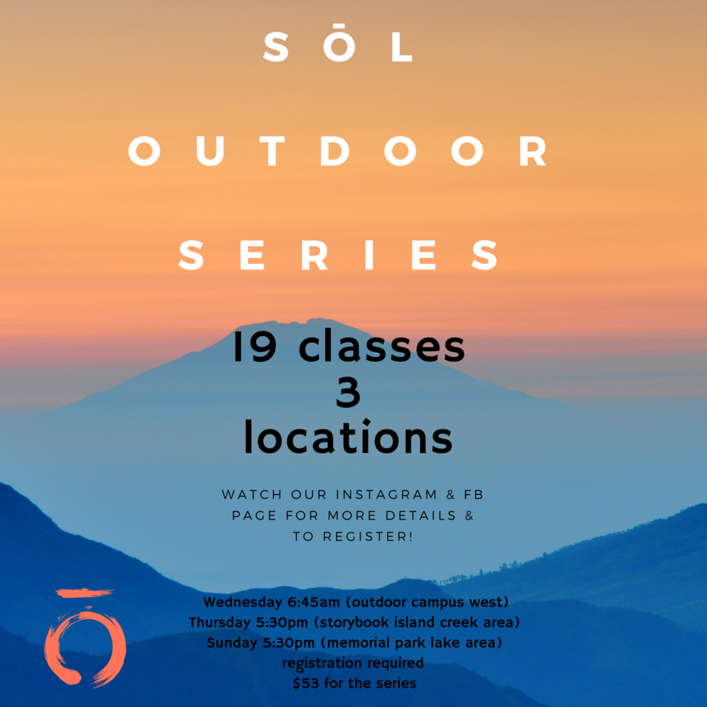 Sōl Outdoor Summer Series, 2018