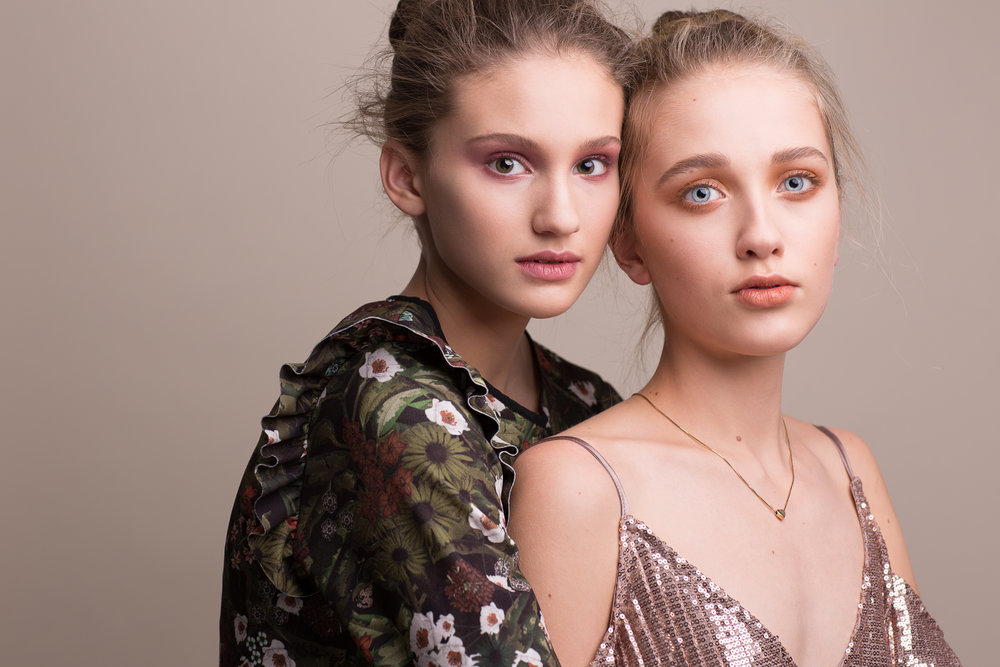 MODELS | Téa Scheske (left) + Lexi Turnbull (right) MUA + HAIR | Caitlyn Dixon AGENCY | Edge Agency