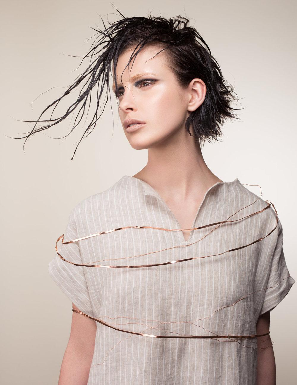 MODEL | Jade Nedilenka AGENCY | Edge Agency MUA | Sara Lindsay Makeup Artist MUA ASSIST | Lisa Hallam Makeup Artistry HAIR STYLIST | Alicia Soulier WARDROBE | Tonic Saskatoon + Cedar & Vine STYLING ASSIST | Justine Romanoff PHOTOGRAPHY, STYLING, RETOUCH | Nicole Romanoff PHOTO ASSIST | S.J. Kardash LOCATION | Saskatoon, SK