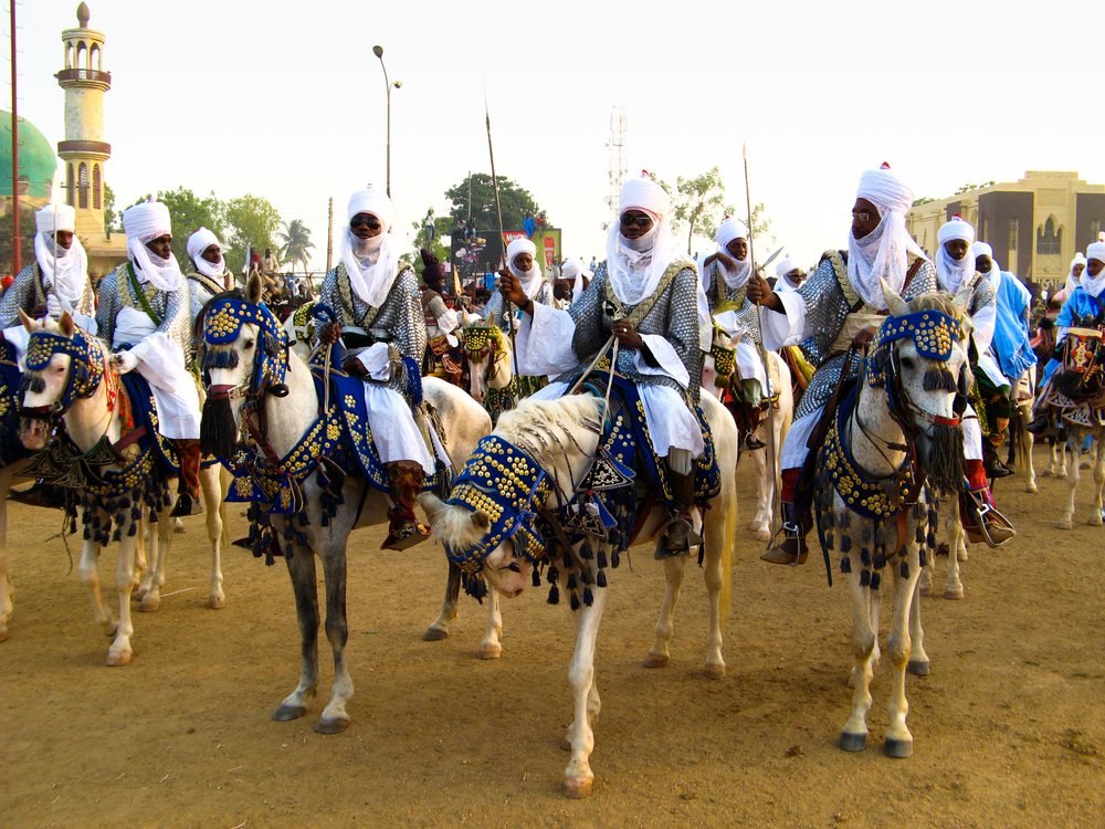 Kano Emirate traditional rulers during the Durbar, 2008